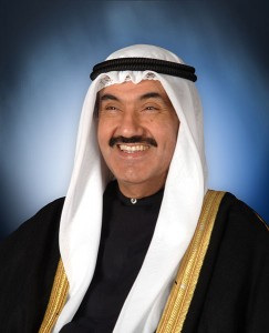 Sheikh Nasser Al-Mohammed Al-Sabah, prime minister of Kuwait. Image by Diwan, available in public domain.