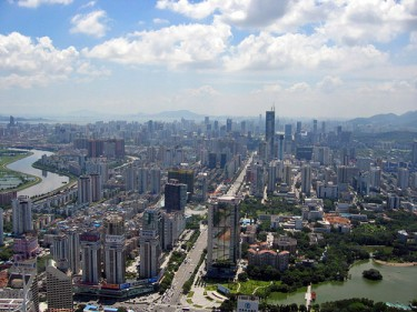 Panorama of Shenzhen City, China. Image by Flickr User yuan2003 (CC BY-NC 2.0)