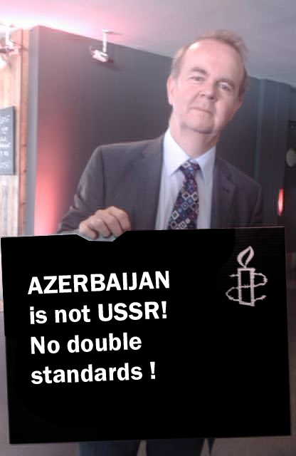 Ian Hislop 'calls' to stop pressure on #Azerbaijan