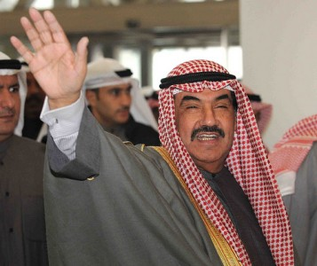 Kuwaiti Prime Minister Sheik Nasser Al Mohammed Al Sabah. Image by Flickr user Kuwait-Ra'ed Qutena (CC BY-NC-SA 2.0).