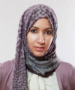 Picture of Manal Al-Sharif taken from her Twitter account.