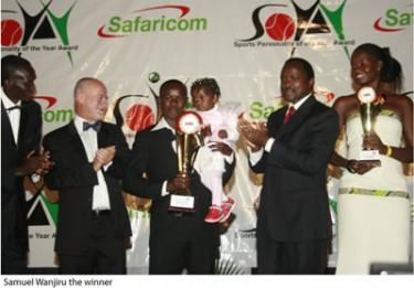 Samuel Wanjiru 2008 SOYA Winner - (courtesy of SOYA).