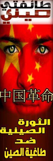 "Banner for the satire Facebook group, ""The Chinese Revolution"""