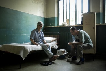 Photo of the hospital by freelance photojournalist Francesco Pistilli, copyright Demotix (11/10/2008)