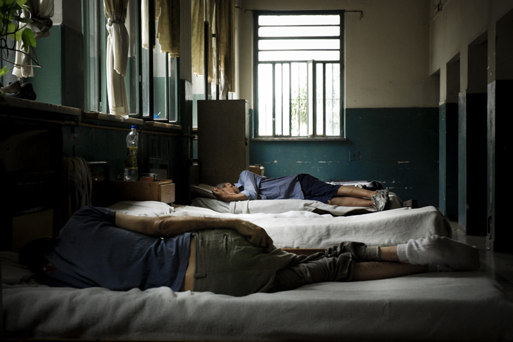 Photo of the Borda psychiatric hospital by freelance photojournalist Francesco Pistilli, copyright Demotix (11/10/2008)