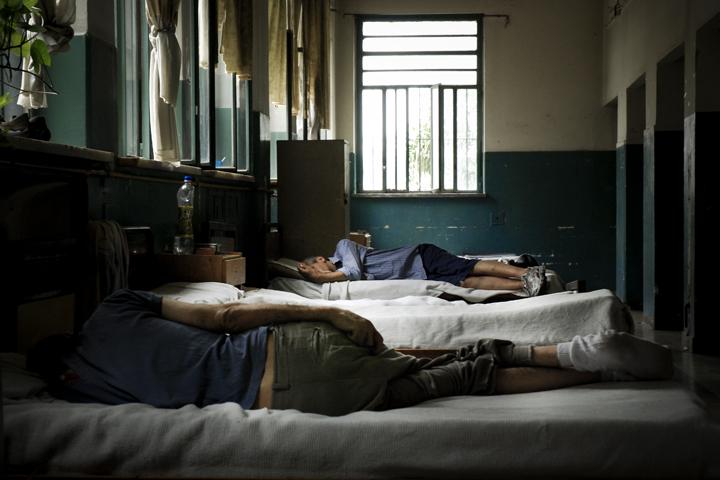 Photo of the Borda psychiatric hospital by freelance photojournalist Francesco Pistilli, copyright Demotix (11/10/2008)