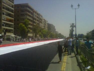 Danijel je na Twitter-u objavio fotografiju zastave duge 2.3 km