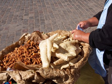 Chicharrón. Image by Derrick S. on Flickr (CC BY-NC-ND 2.0).