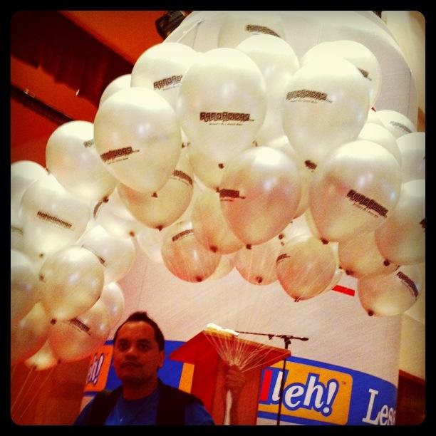 Ranoadidas balloons