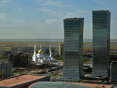 Kazakhstan is one of the fastest developing countries from the ex-Soviet republics. Image by Vlad Sokhin, copyright Demotix (11/09/08).