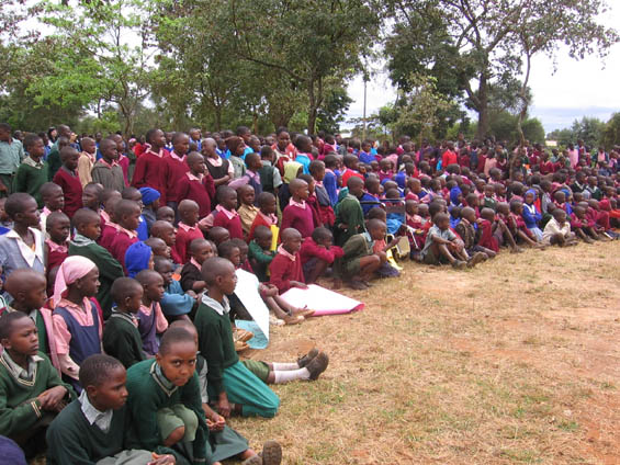 Children celebrating Day of the African Child in Kenya last year. Photo courtesy of www.mullychildrensfamily.org.