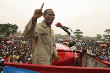 Tanzanian Member of Parliament, Zitto Kabwe.