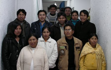 Members of the Global Voices in Aymara translation team.