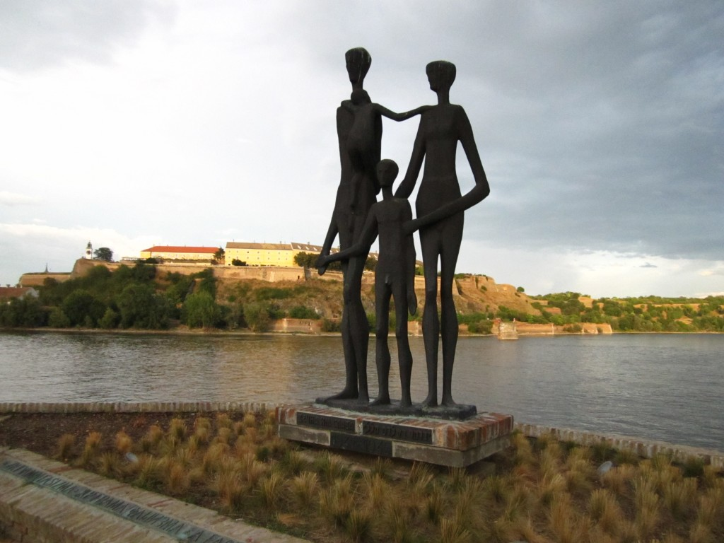 Monument to the victims of the 1942 Novi Sad massacre. Image by Zoran Jevtovic.
