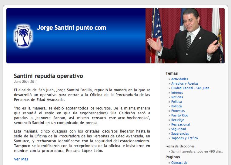 JorgeSantini.com