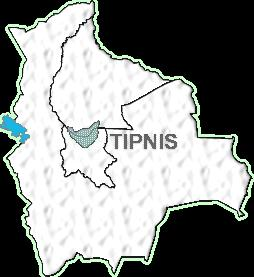 Map of the TIPNIS area