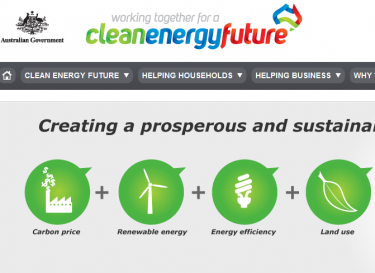 Clean Energy Future website