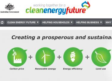 Clean Energy Future website