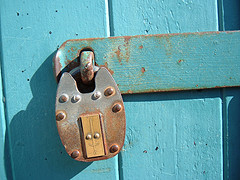 Lock. Foto di ztephen/Flickr