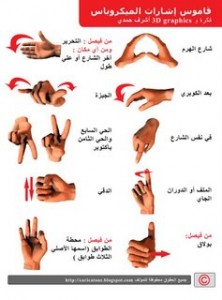 Microbus Hand Signals Dictionary