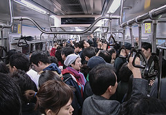 Subway carriage, Seoul, South Korea. Image by Flickr user Matthew R Lloyd (CC BY-NC-ND 2.0).