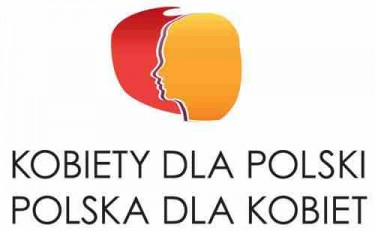 The logo of the Congress of Women - 'Women for Poland, Poland for Women'