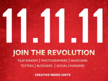 11-11-11 Creative Minds Unite - Nog 3 maanden! Video van 11Eleven Project op Youtube