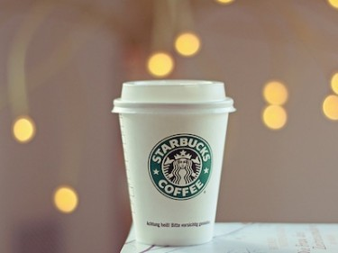 Starbucks coffee. Image by Flickr user MissTurner (CC BY 2.0).