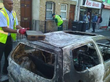 Hackney riot aftermath