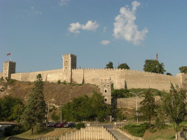 Skopje Fortress Kale, photo by Yemc, via Wikipedia