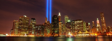 World Trade Center Tribute, 9 Sep 2010. Flickr: dennoit (CC BY-NC-SA 2.0)