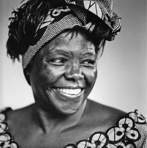 Wangari Maathai. Image by Flickr user On Being (CC BY-NC-SA 2.0).
