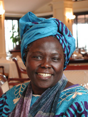 Wangari Maathai. Image under CC License from Wikipedia.
