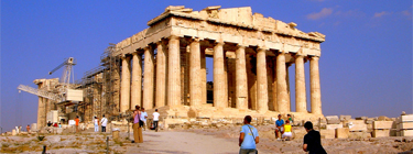 The Acropolis of Ancient Greece, where democracy had its formal origin. Image by Flickr user mgrenner57 (CC BY-NC-SA 2.0).