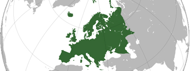 Europe. Source: CC BY-SA from Wikimedia Commons