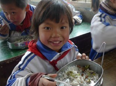 Students at Hongban Primary School