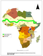 Route of the Great Green Wall