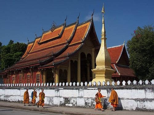 Luang Prabang, Laos. Photo by jmhullot used under CC License Attribution-ShareAlike 2.0 Generic (CC BY-SA 2.0)