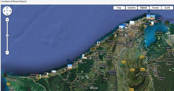 Protegiendo las playas de brunei global voices en espaol playas de brunei en google maps gumiabroncs Images