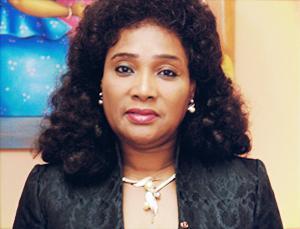 Marie-Élise Gbèdo, presidentskandidate in Benin. Foto van Benin-diaspora.com.