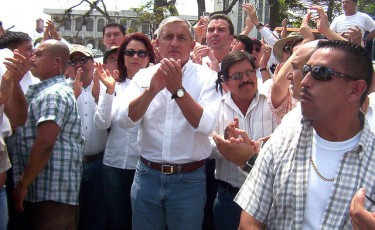Otto Pérez Molina -Picture by Flickr user Lestermosh under an Attribution 2.0 Generic license (CC BY 2.0).