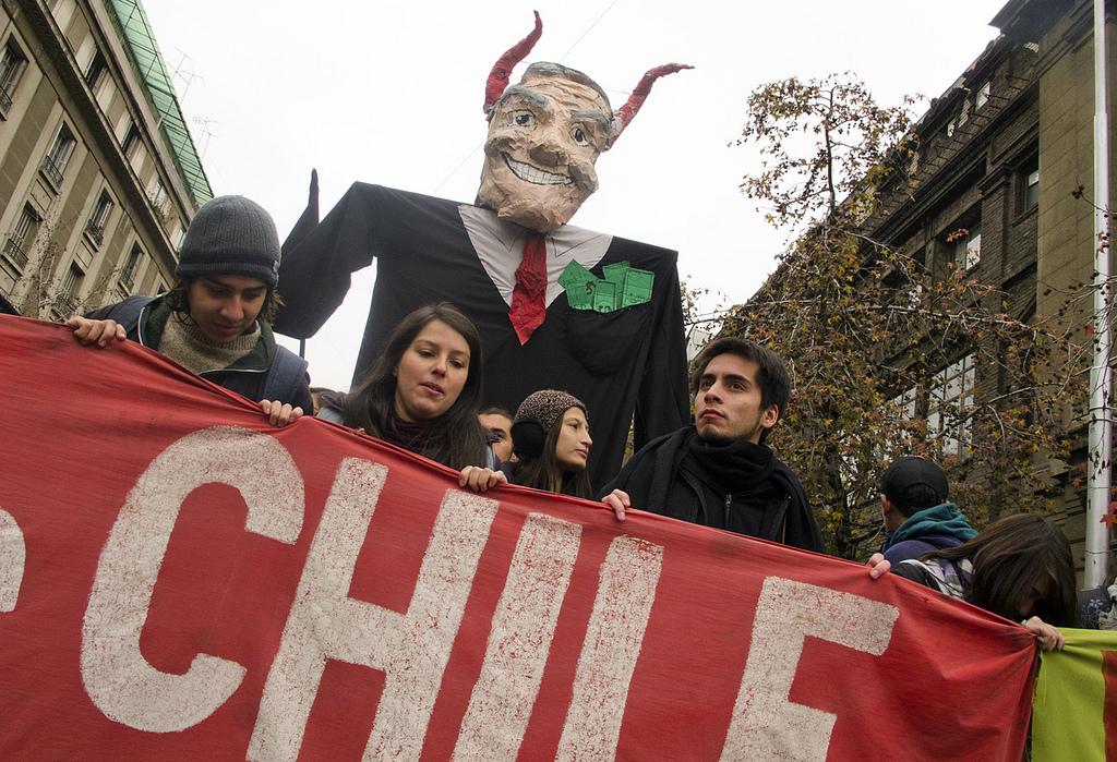 Proteste studentesche in Cile