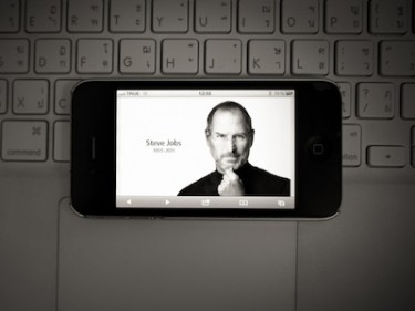 RIP Steve Jobs. Image by Flickr user noppyfoto1 (CC BY 2.0).