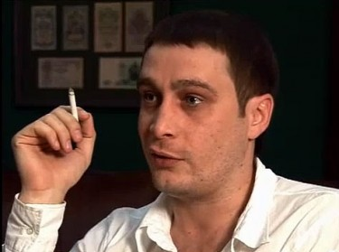 Eduard Bagirov. A video still from an interview by YouTube user Koroedcom