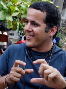 Isbel Díaz, founder of El Guardabosques