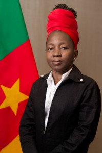 Cameroonian presidential candidate Kah Walla