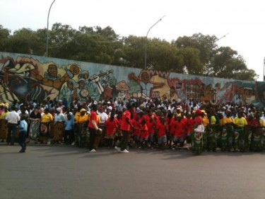 Mozambicans commemorate President Samora Machel. Image from lockerz.com