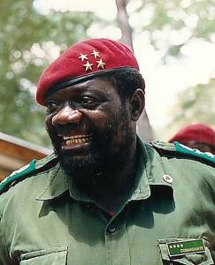 Dr. Jonas Malheiro Savimbi. Image released under Creative Commons (CC BY-SA 3.0) by Wikipedia author Ernmuhl.