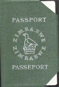 Zimbabwean passport. Image courtesy of sokwanele.com
