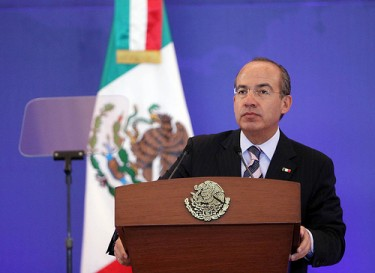 President Felipe Calderón at International Forum on Latin American Security 2011 by Organización Demócrata Cristiana de América, under and Attribution 2.0 Generic (CC BY 2.0) license.